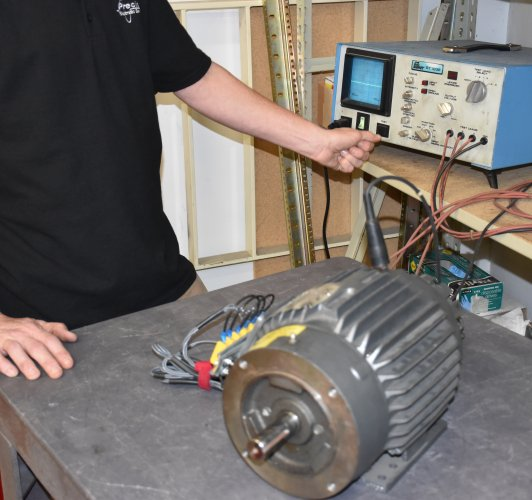 What is a good megger reading for a motor for Testing 3 phase motor