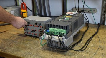 ABB Drive Expert Repair and Load Testing | Precision Electronic Services