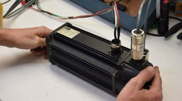 ABB Servo Motor Repair and Testing | Precision Electronic Services, Inc.