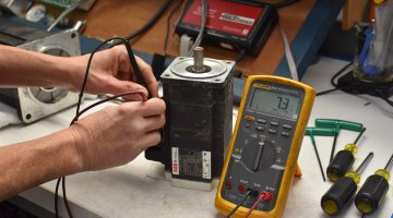 High Quality ABB Servo Motor Repair and Testing | Precision Electronic Services, Inc.