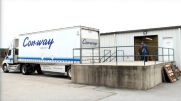 Loading Dock Handles Large Shipments | Precision Electronic Services, Inc