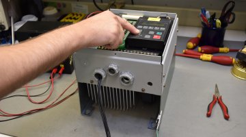 Allen Bradley 1336 AC Drive Repair and Testing | Precision Electronic Services