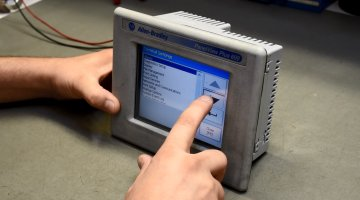 Allen Bradley HMI Panel Repair and Testing | Precision Electronic Services