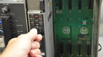 Allen Bradley PLC-5 Professional Repair and Testing | Precision Electronic Services, Inc