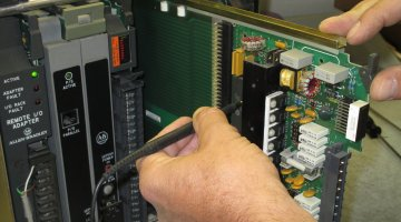 Allen Bradley PLC Repair and Testing | Precision Electronic Services, Inc.