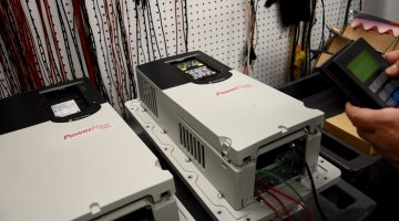 Allen Bradley PowerFlex 700 AC Drive Repair and Testing | Precision Electronic Services