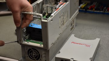 Allen Bradley PowerFlex 753 Repair and Testing | Precision Electronic Services, Inc.