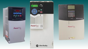 Allen Bradley PowerFlex 40, PowerFlex 575, PowerFlex 700 | Precision Electronic Services