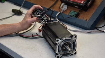 Allen Bradley Servo Motor Repair and Testing | Precision Electronic Services, Inc.