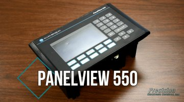 Allen Bradley PanelView 550 Repair Video | Precision Electronic Services, Inc.