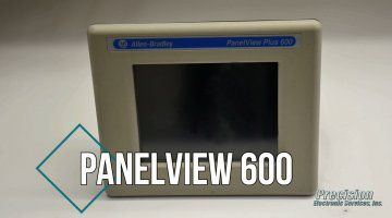 Allen Bradley PanelView 600 Repair Video | Precision Electronic Services, Inc.