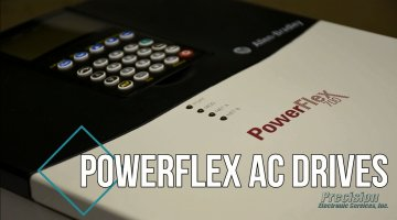 Allen Bradley PowerFlex Drive Repair Video | Precision Electronic Services, Inc.
