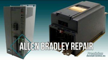 Allen Bradley Drives and Controls Repair Video | Precision Electronic Services, Inc.