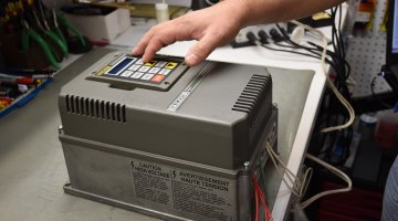 Baldor AC Drive Repair and Testing | Precision Electronic Services, Inc.