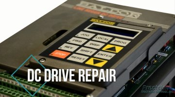 DC Drive Repair Video | Precision Electronic Services, Inc.