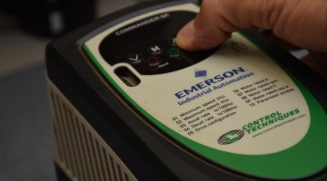 Emerson AC Drive Repair and Testing | Precision Electronic Services, Inc.