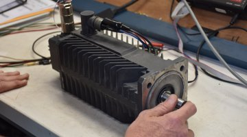 Emerson Servo Motor Repair and Testing | Precision Electronic Services, Inc.