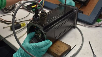 Emerson Servo Motor Expert Repair | Precision Electronic Services, Inc
