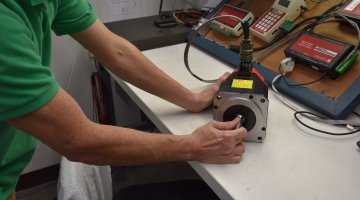 Fanuc Servo Motor Repair and Testing | Precision Electronic Services, Inc.