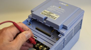 Hitachi AC Drive Repair and Testing | Precision Electronic Services, Inc