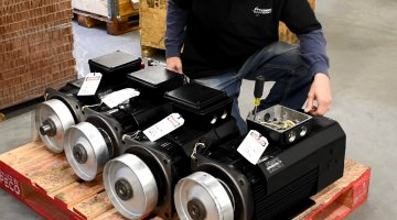 Indramat Servo Motor Repair and Testing | Precision Electronic Services, Inc