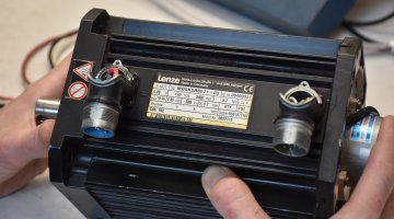 Lenze Servo Motor Expert Repair | Precision Electronic Services, Inc.