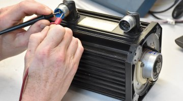 Lenze Servo Motor Repair and Testing | Precision Electronic Services, Inc.