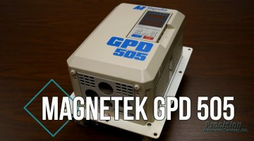Magnetek GPD 505 Drive Repair Video | Precision Electronic Services, Inc.