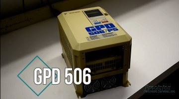 Magnetek GPD 506 Drive Repair Video | Precision Electronic Services, Inc.