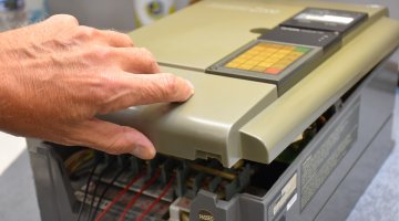 Mitsubishi AC Drive Repair and Testing | Precision Electronic Services, Inc.