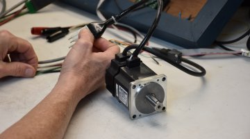Mitsubishi Servo Motor Repair and Testing | Precision Electronic Services, Inc.