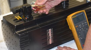 Moog Servo Motor Repair and Testing | Precision Electronic Services, Inc.