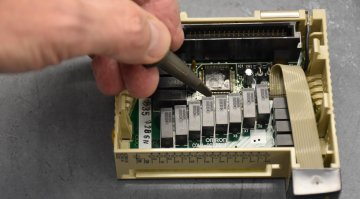 Omron PLC Repair and Testing | Precision Electronic Services, Inc