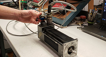 Pacific Scientific Servo Motor Expert Repair | Precision Electronic Services, Inc