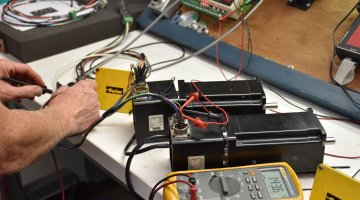 Parker Servo Motor Repair and Testing | Precision Electronic Services, Inc
