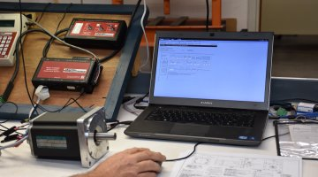 Reliance Servo Motor Repair and Testing | Precision Electronic Services, Inc.