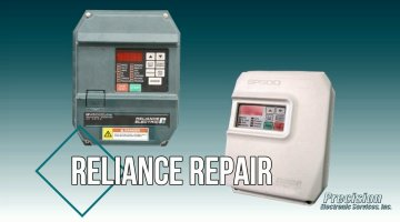 Reliance Drives and Controls Repair Video | Precision Electronic Services, Inc.