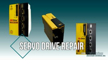 Servo Drive Repair Video | Precision Electronic Services, Inc.