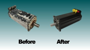 Before and After Repair | Precision Electronic Services