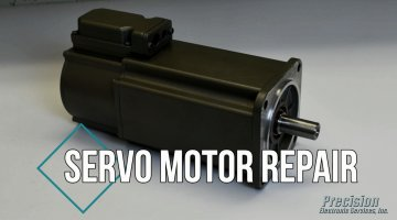 Servo Motor Repair Video | Precision Electronic Services, Inc.