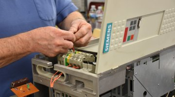 Siemens AC Drive Repair and Testing | Precision Electronic Services, Inc.