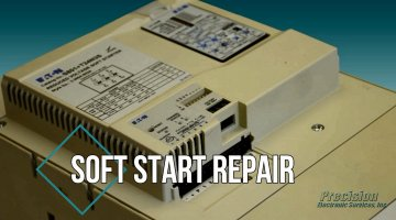 Soft Start Repair Video | Precision Electronic Services, Inc.