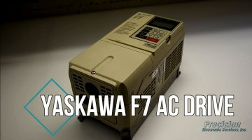 Yaskawa F7 Drive Repair Video | Precision Electronic Services, Inc.